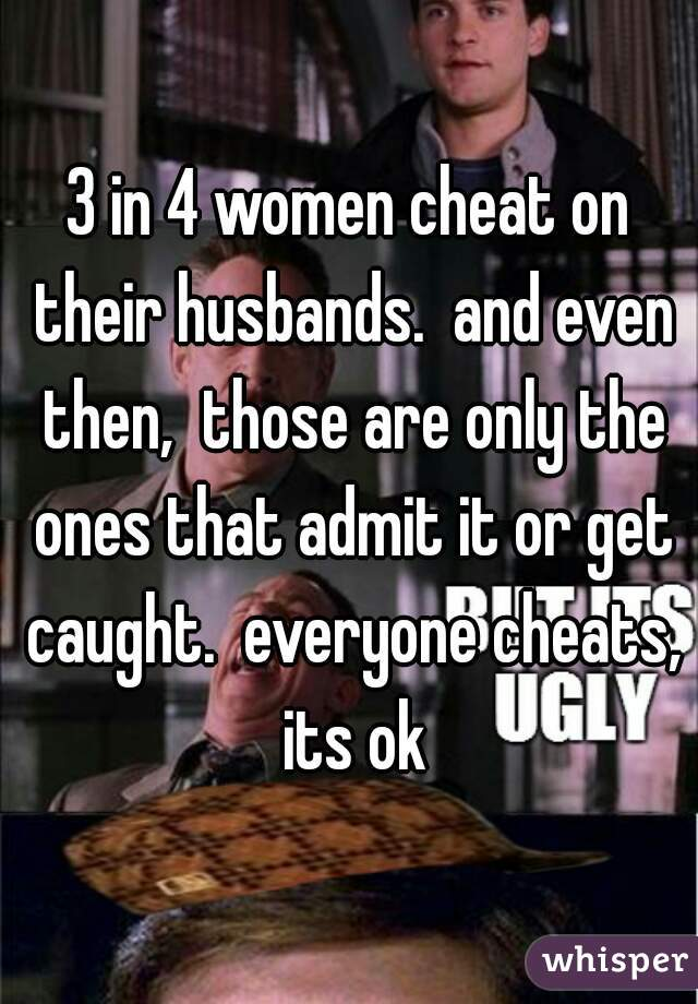 How many women cheat on their husbands