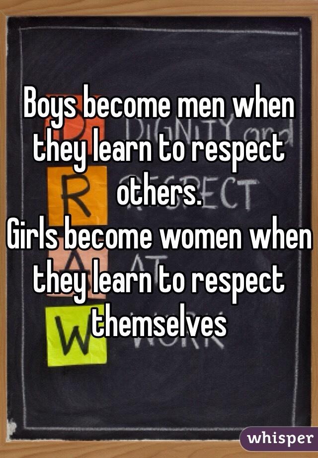 how girls become women