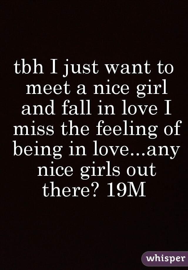 Where do i meet a nice girl