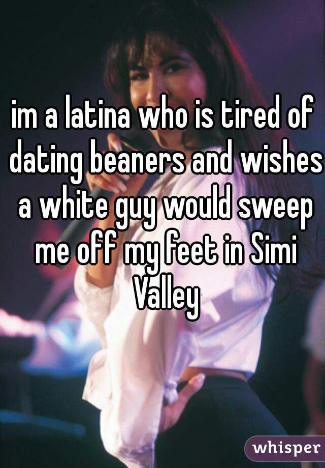 Latina dating a white guy