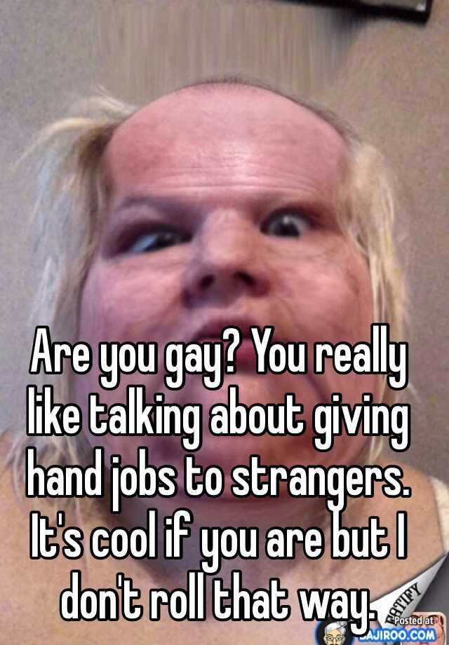 talk to gay strangers