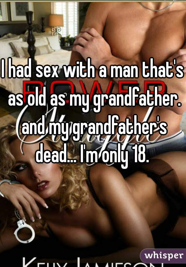 I had sex with an adult