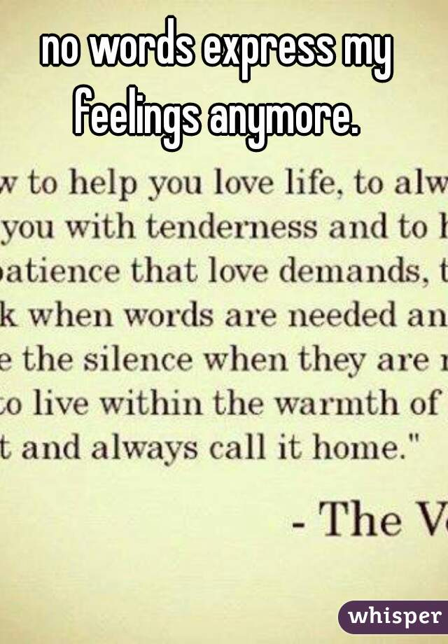 words to express love