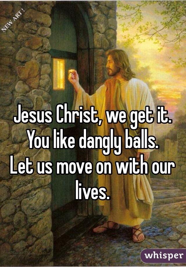 Dangly balls