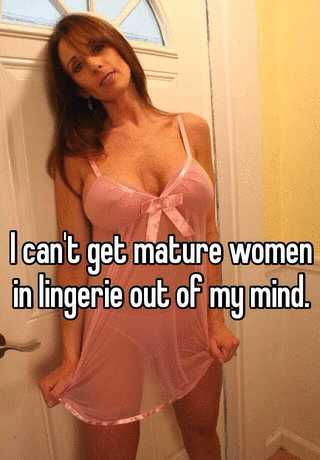 Mature women in see through clothes