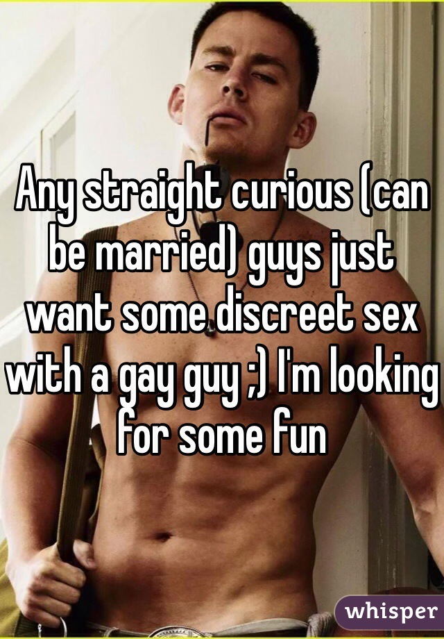 Married men looking for gay sex