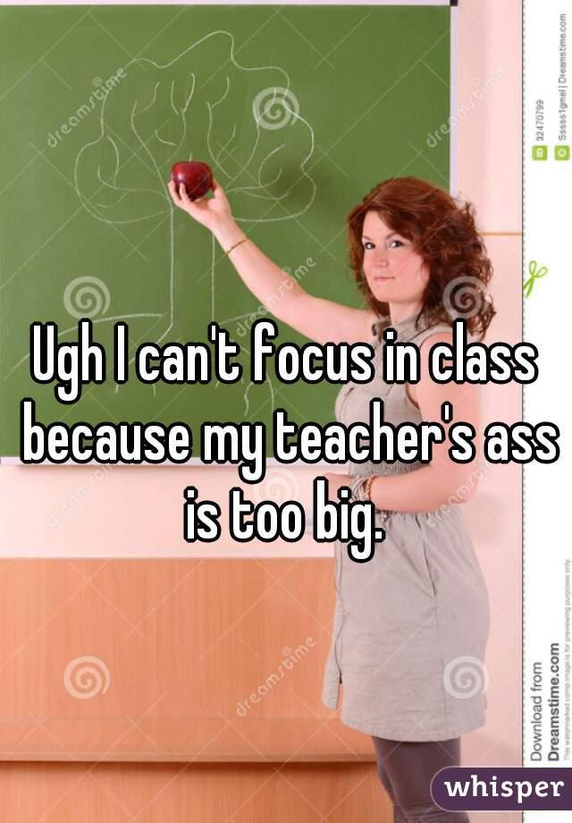 teachers with big asses