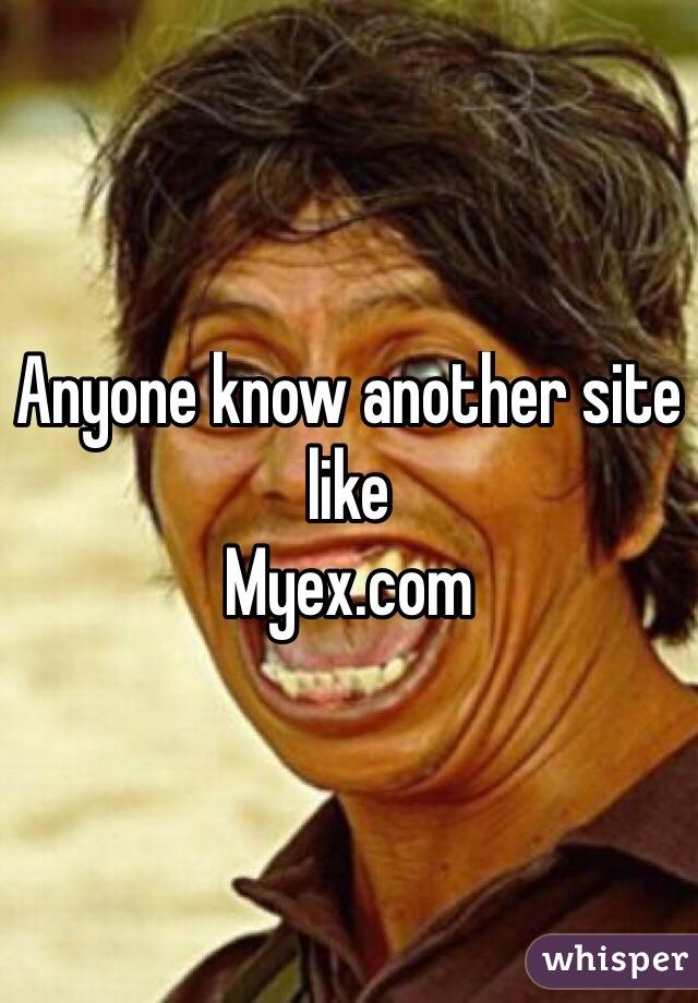 Sites like myex.com