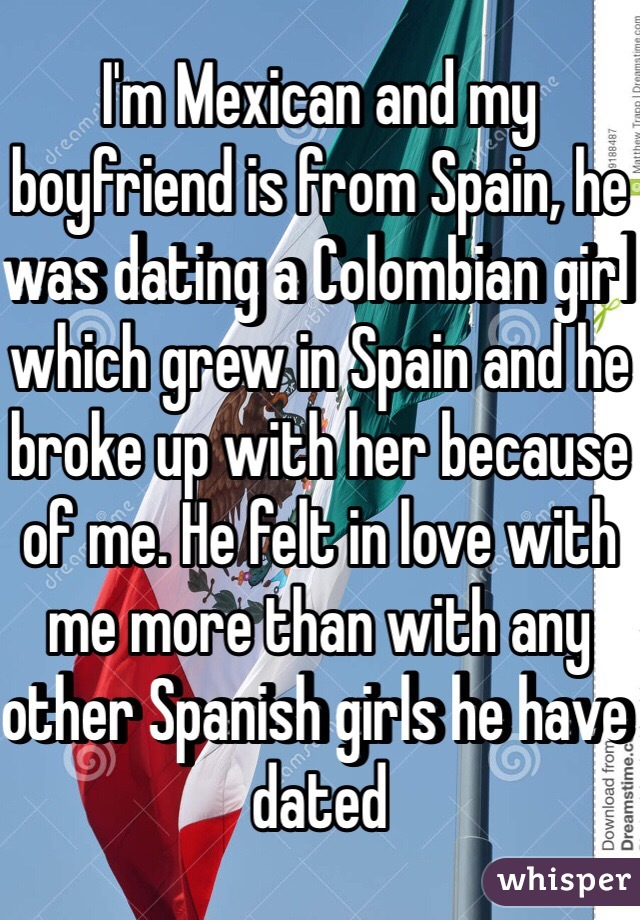 Dating a girl from spain