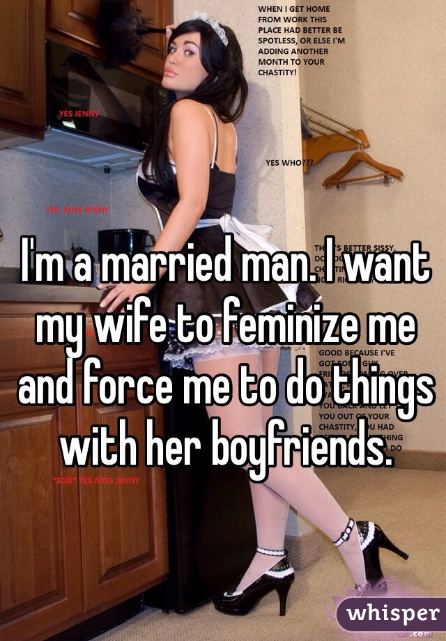 i want a married man