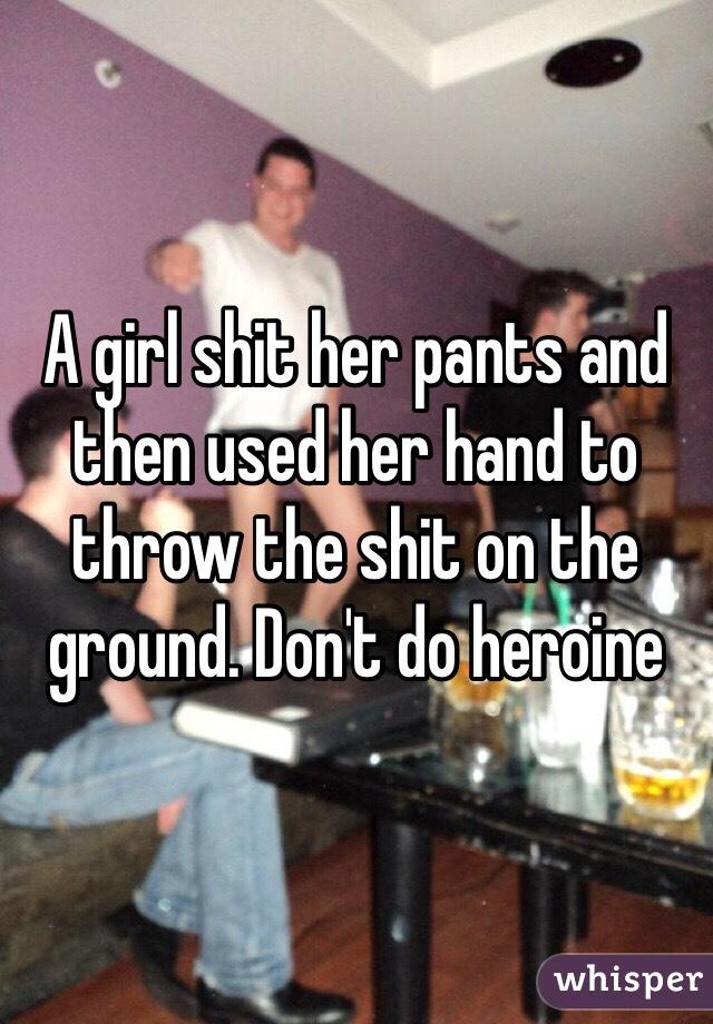 Girl shitting her pants topic opinion