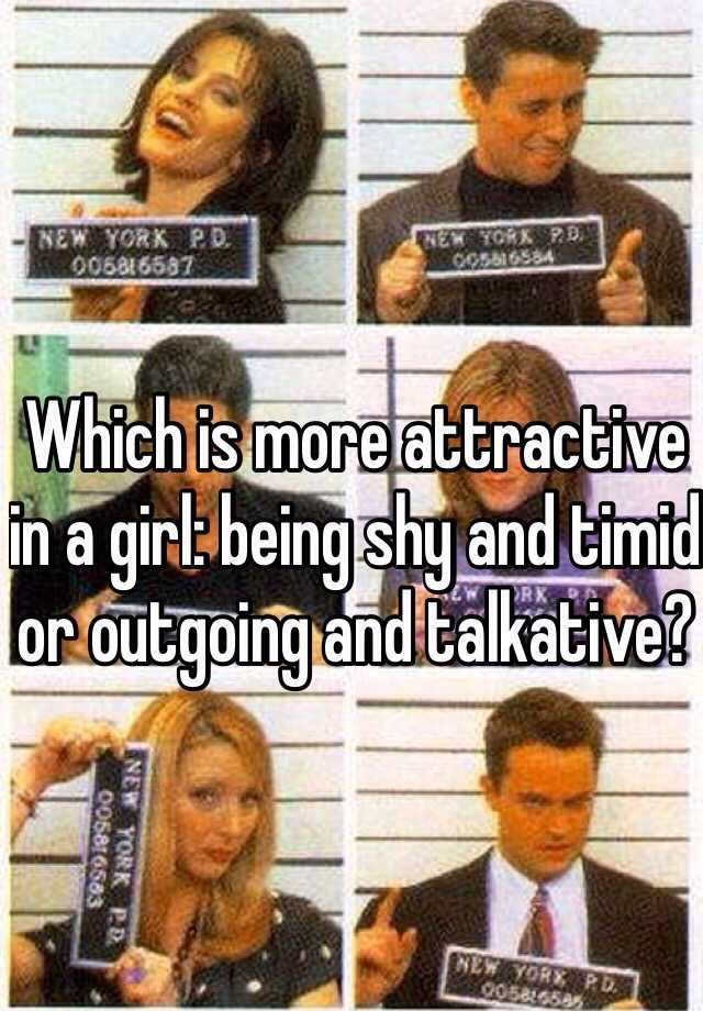 Is being shy attractive