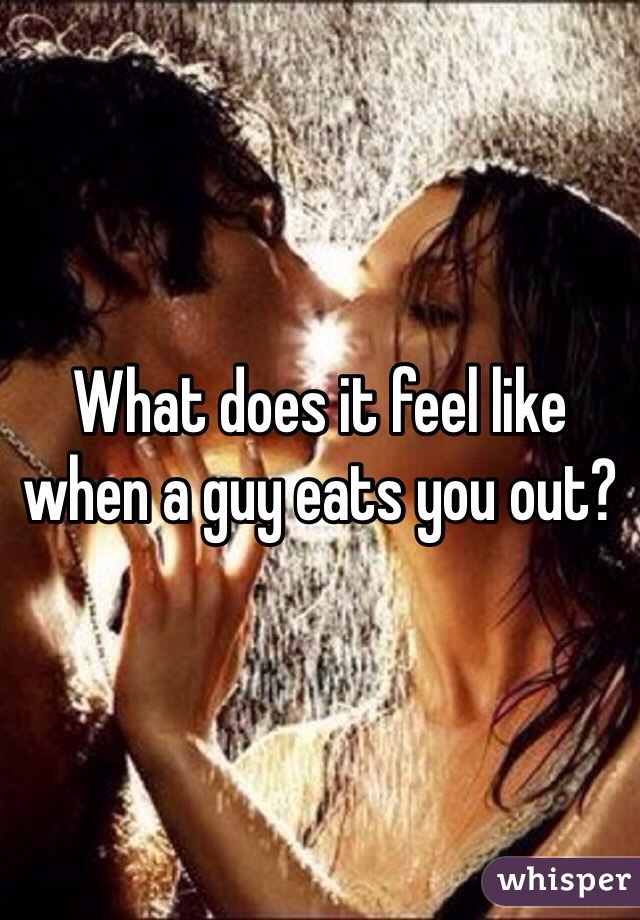 Does out guy mean you eat what from a Eat you