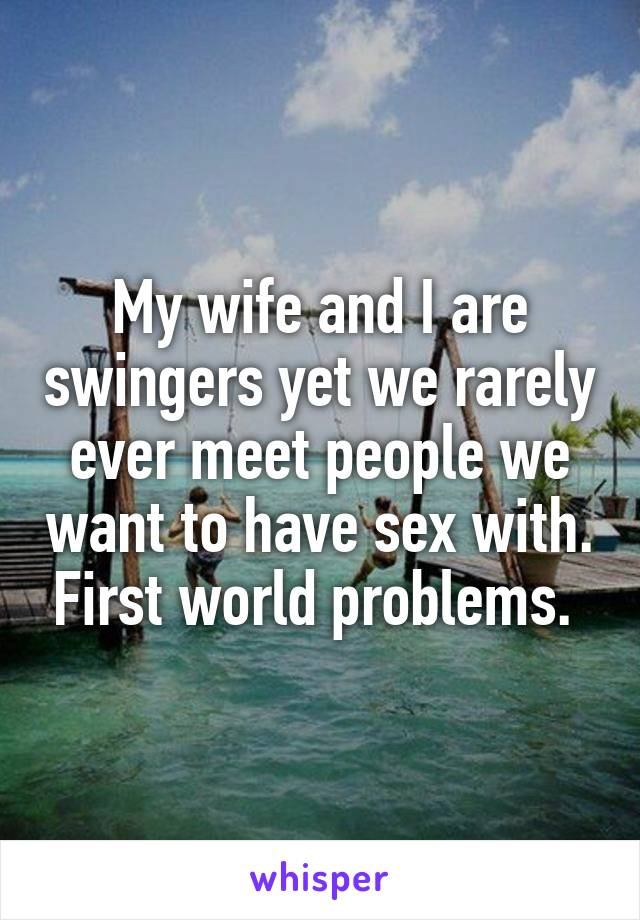 Meet People Who Want To Have Sex