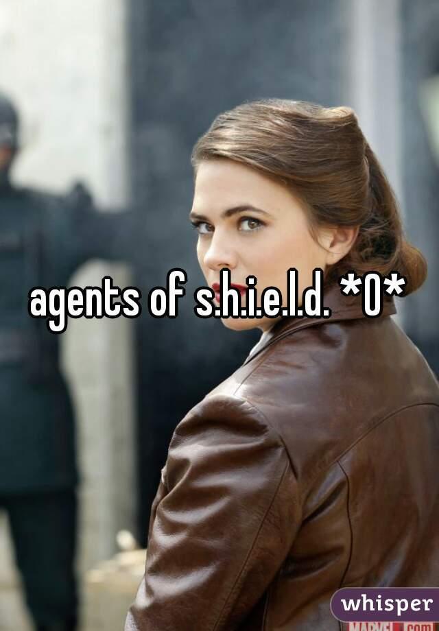 agents of s.h.i.e.l.d. *0*