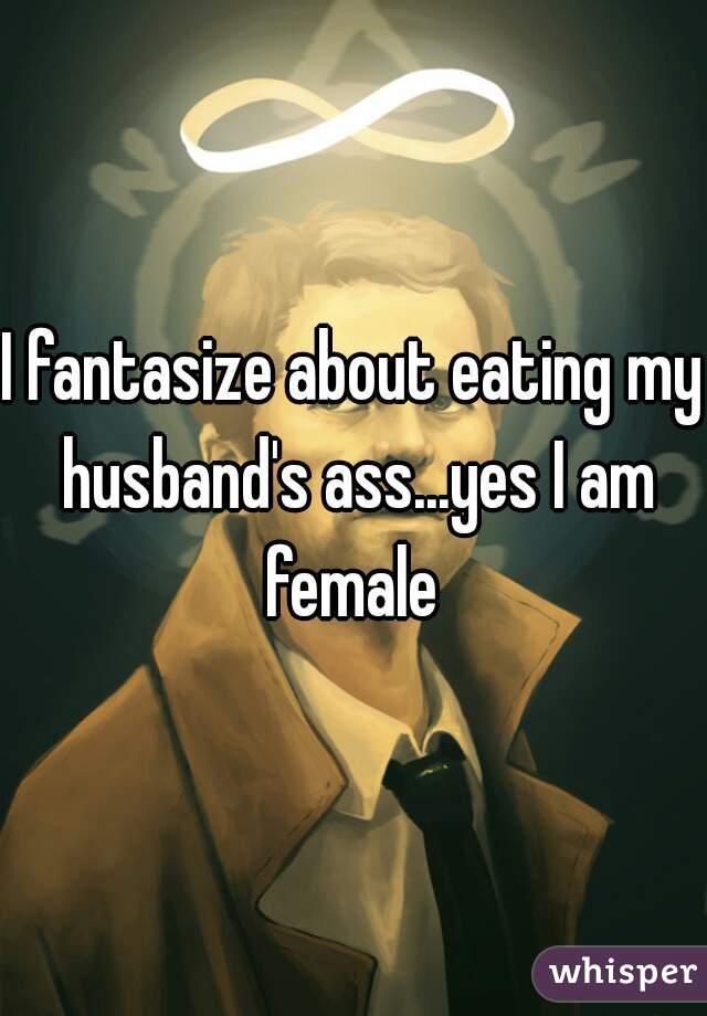 wife eating husbands ass