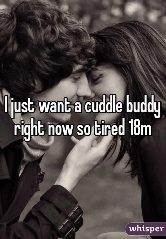 I just want a cuddle buddy right now so tired 18m