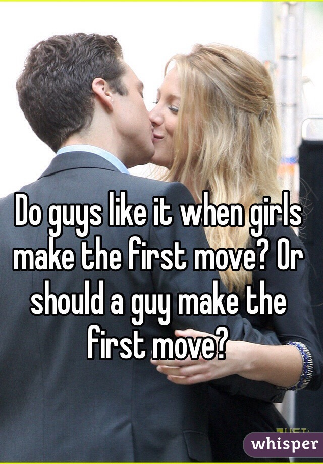When To Make The First Move