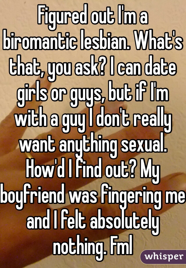 Biromantic homosexual relationship