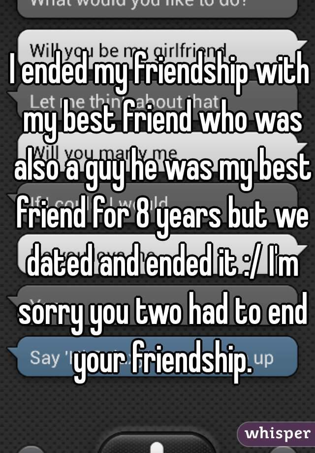 should i end my friendship