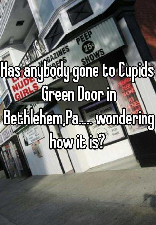 The green door pa