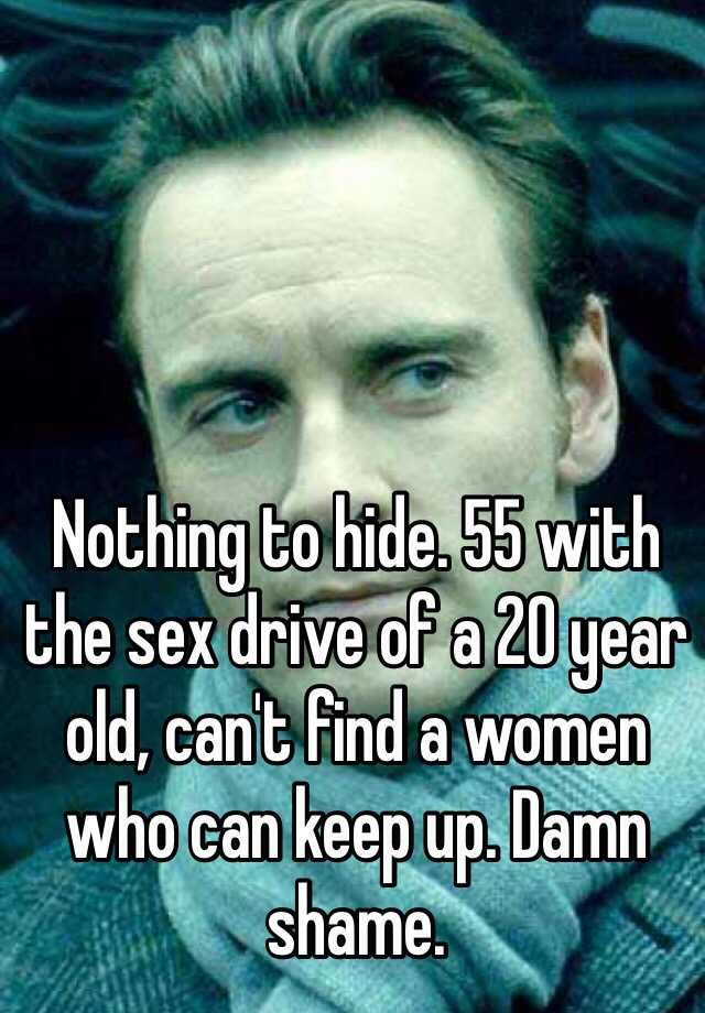 55 and no sex drive