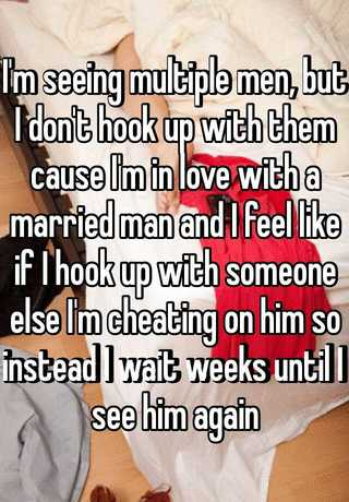 Im hookup someone but love someone else