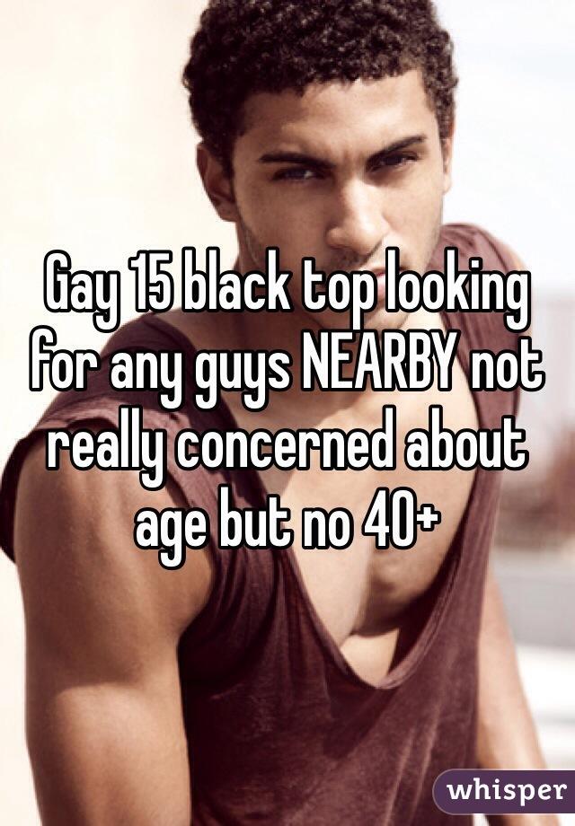 gay black top