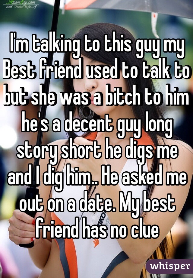 My best friend is dating a guy i used to like