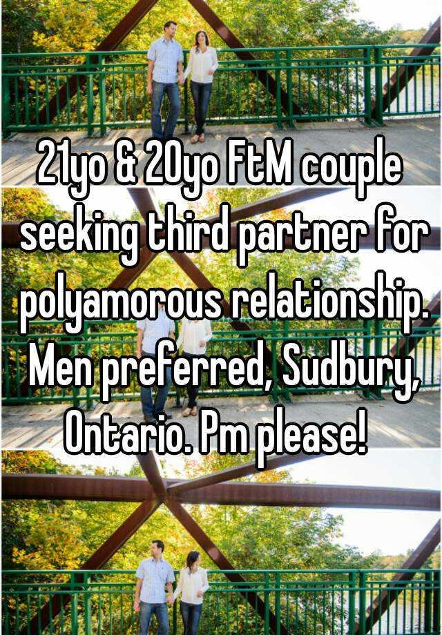 Couple seeking a third