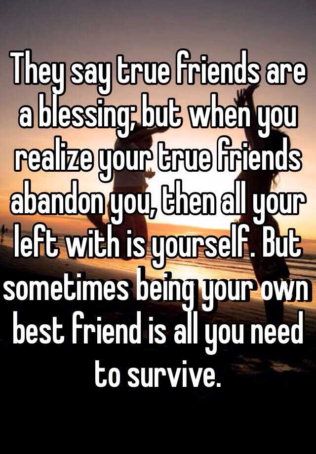 a true friend is a blessing