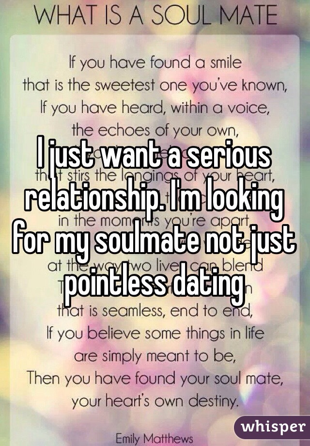 From dating to a serious relationship