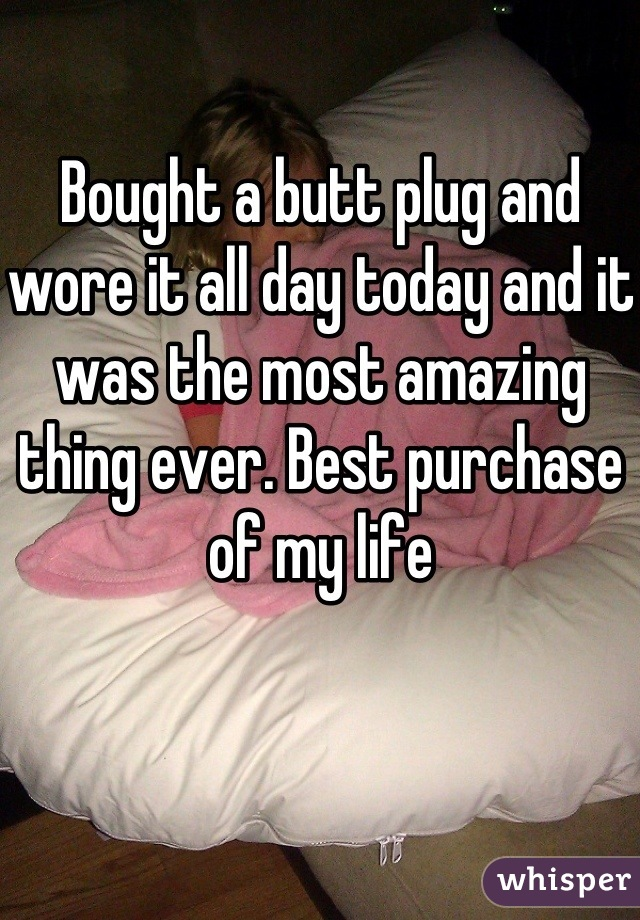 Worlds most comfortable butt plug-12175
