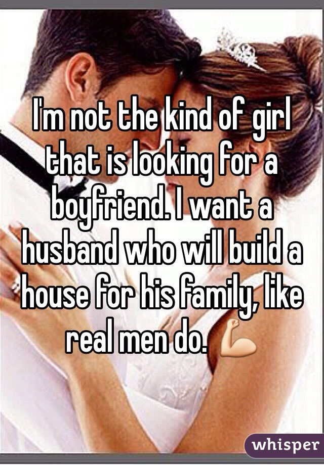 I m looking for a husband