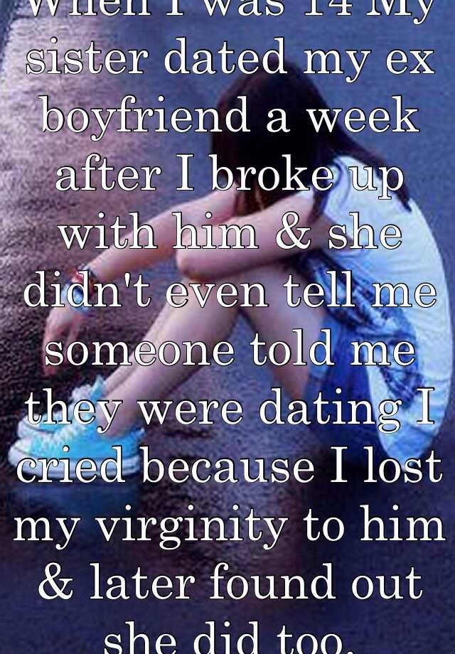 Dating sisters ex boyfriend