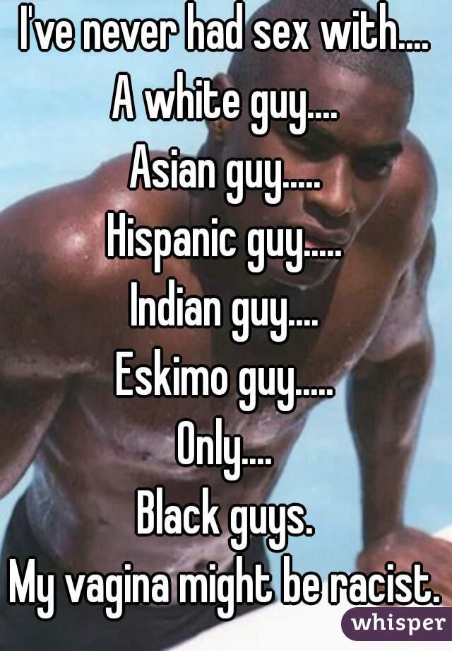 White sex Indian guy