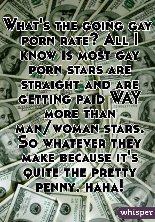 Gay porn pay rate