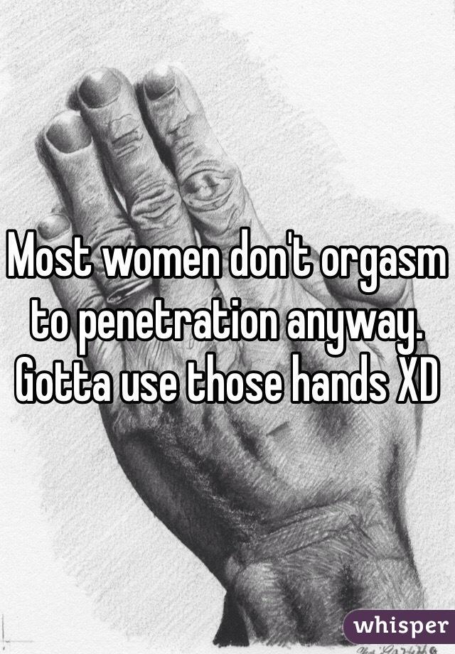 Women don t orgasm
