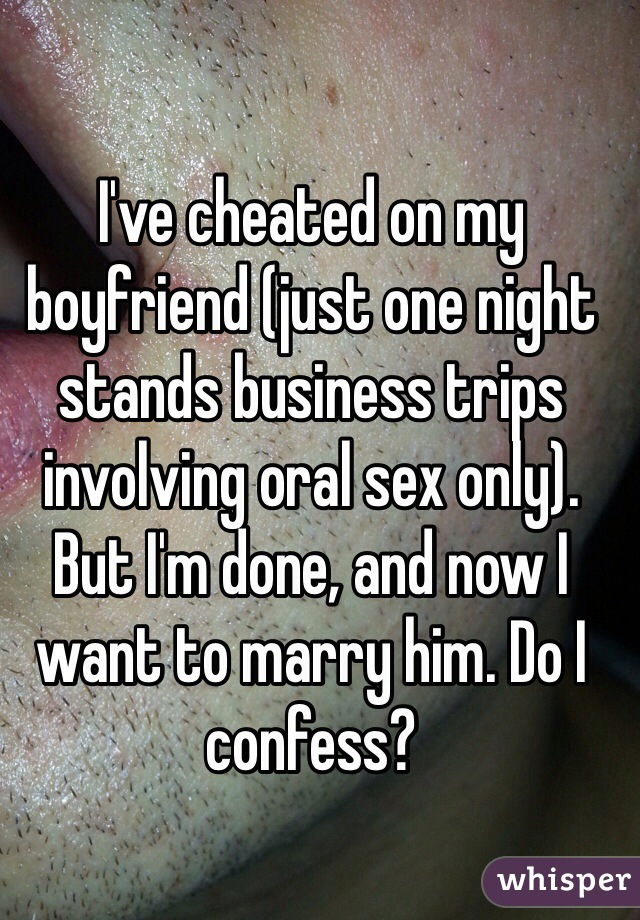 Sex on business trips