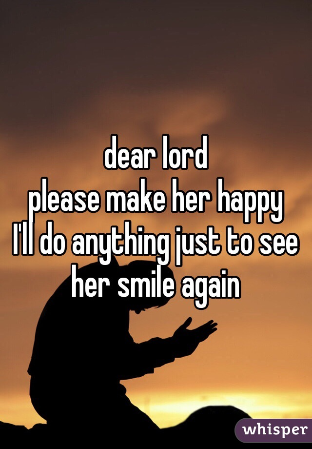 What To Do To Make Her Happy