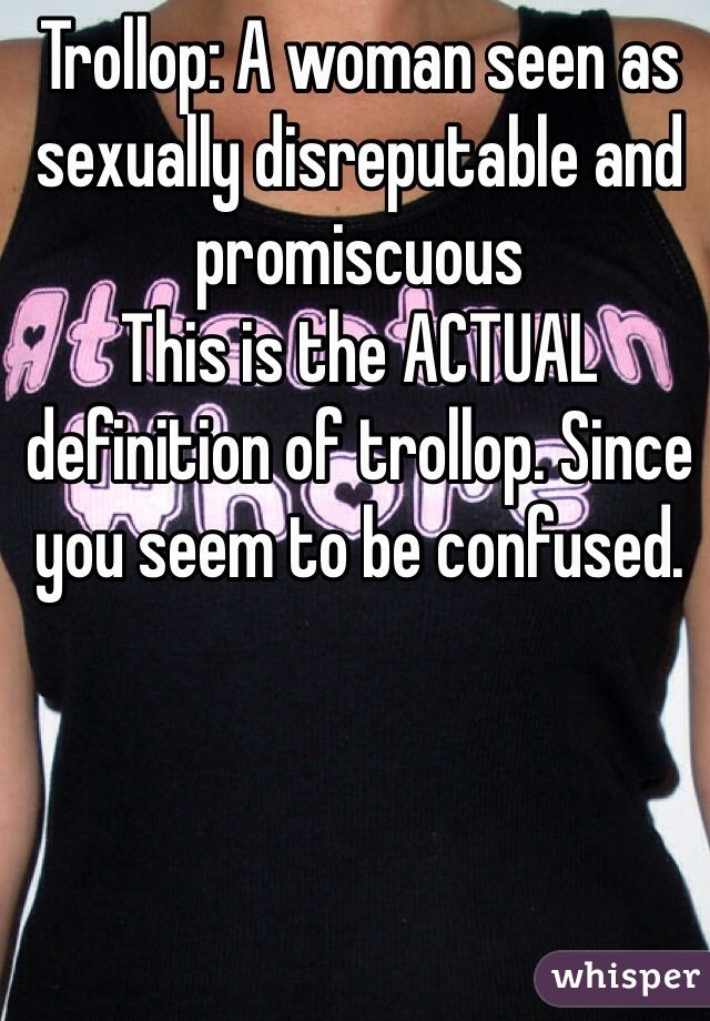 Sexually confused definition
