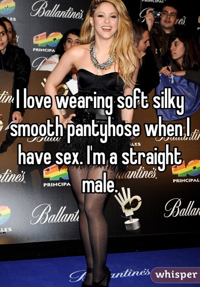 Silky pantyhose sex
