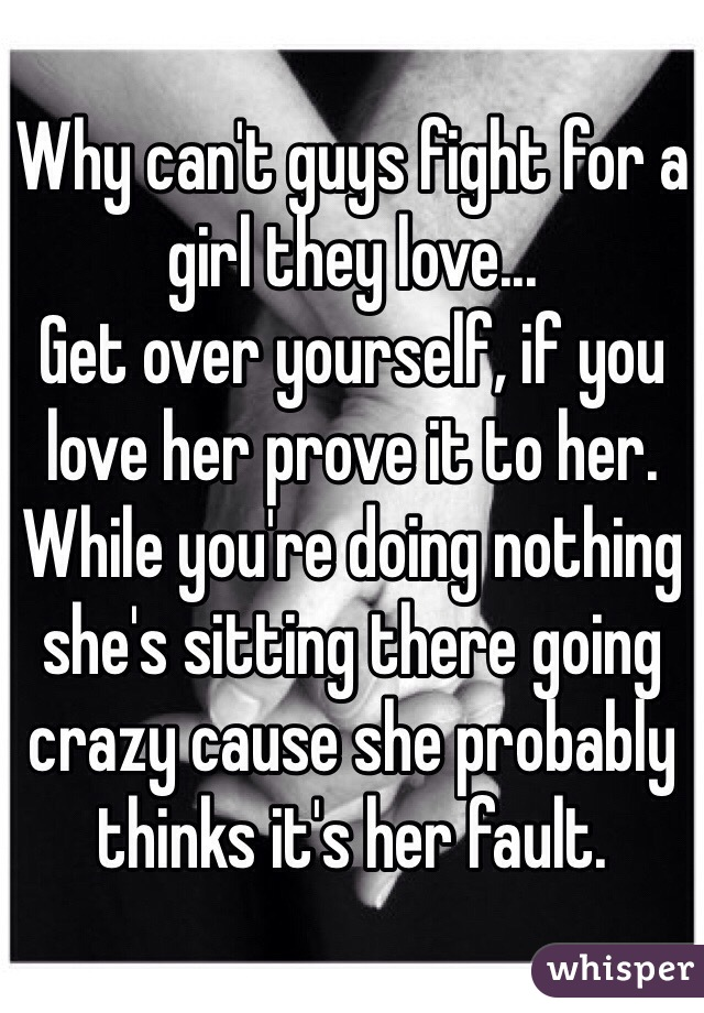 How to get over a girl u love
