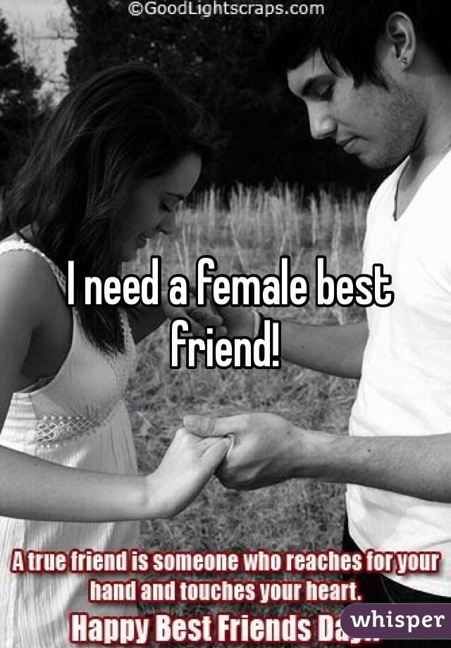male and female best friends