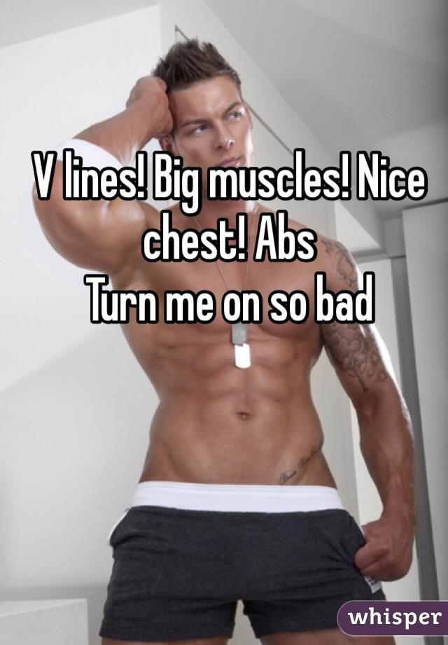 Nice chest photo