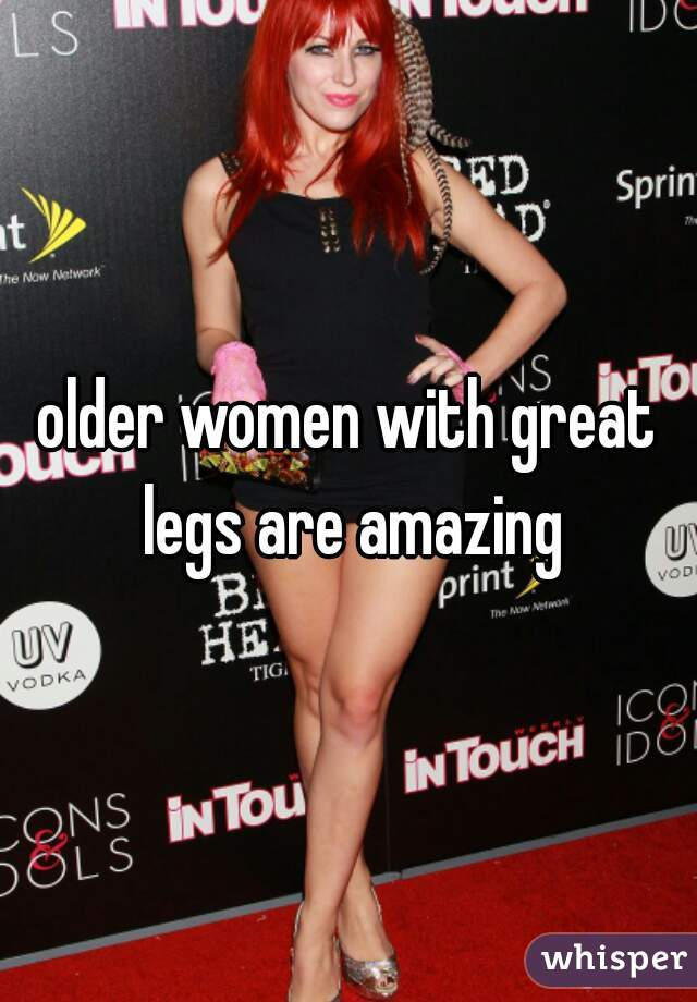Older women legs