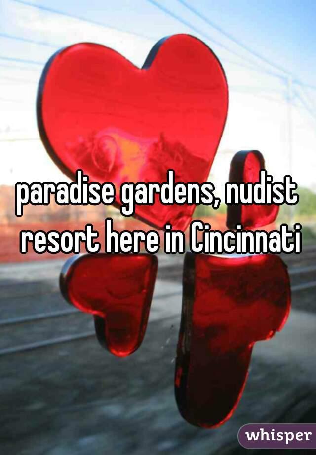 Paradise gardens nudist resort