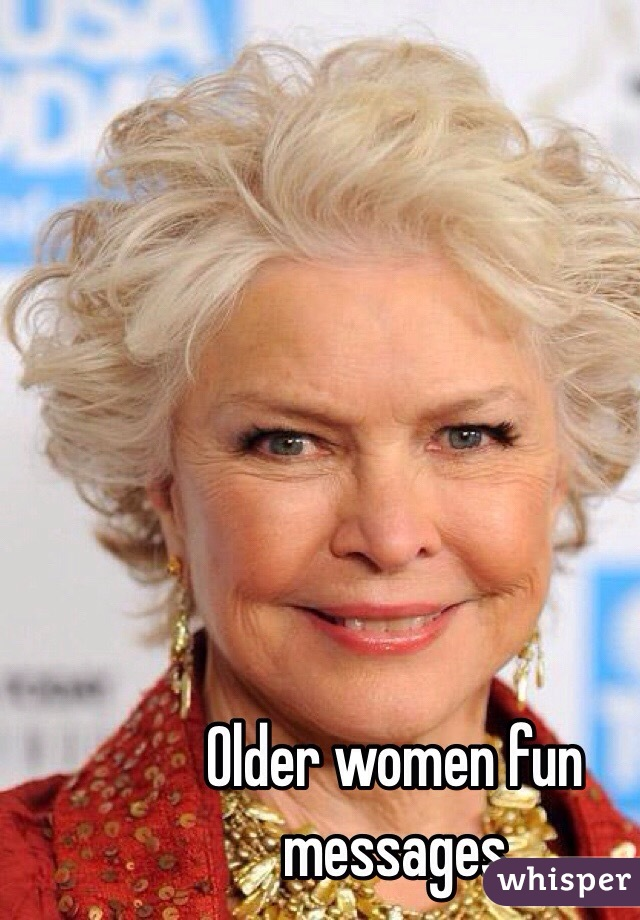 Fun Older Women