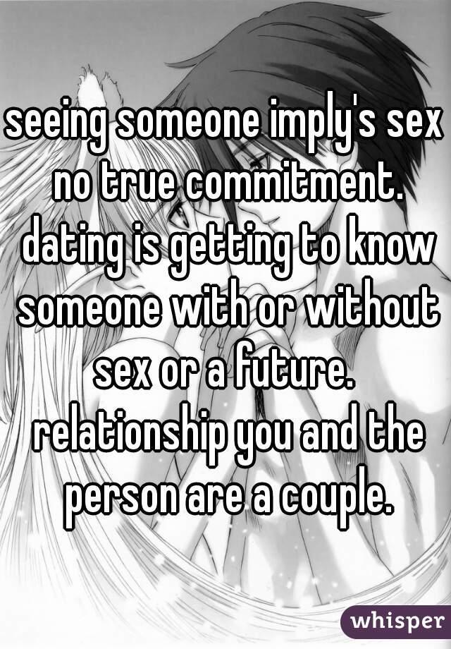 dating versus relationship