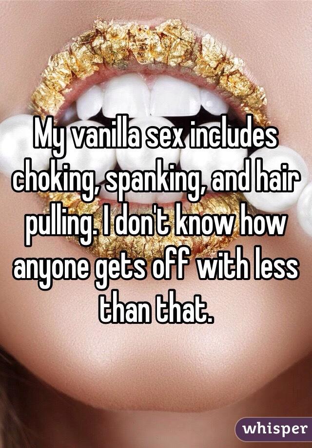 Opinion you choke hair pull spank